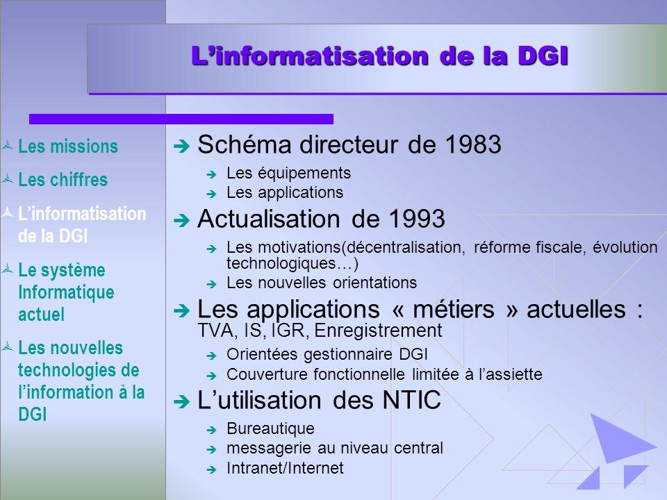 L'informatisation de la DGI