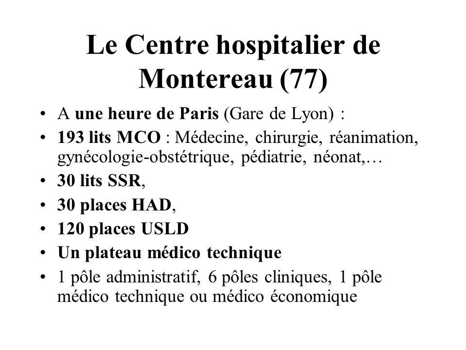 Le Centre hospitalier de Montereau (77)