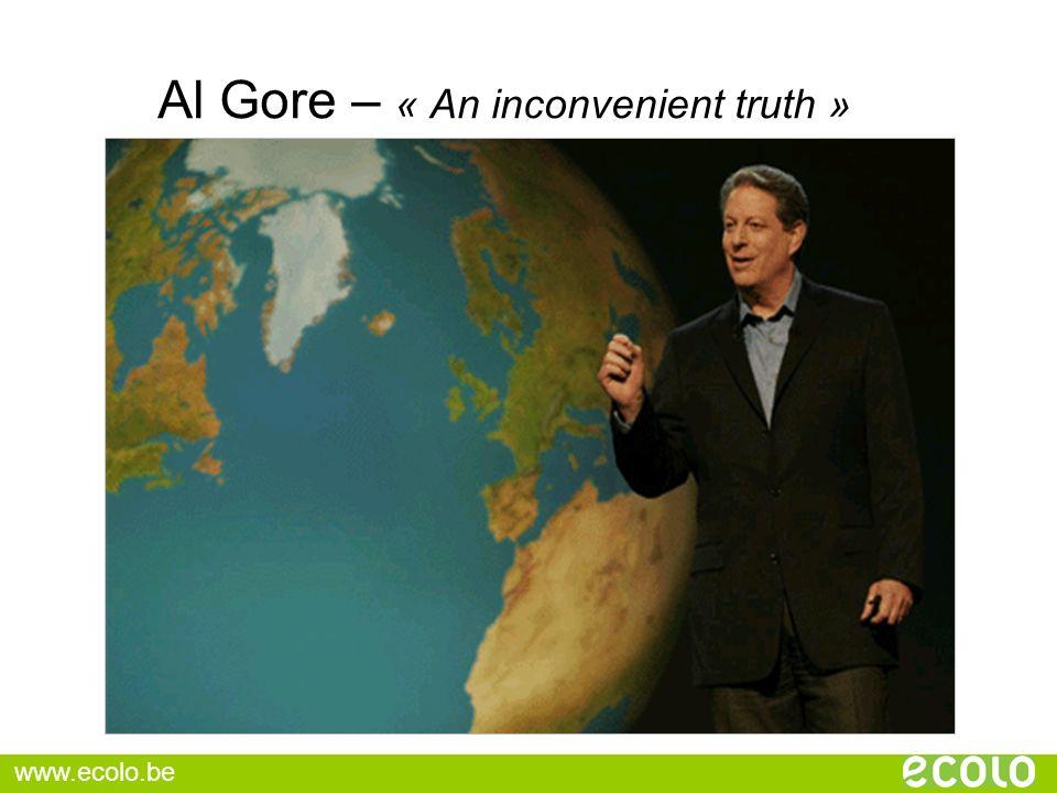 Al Gore – « An inconvenient truth »