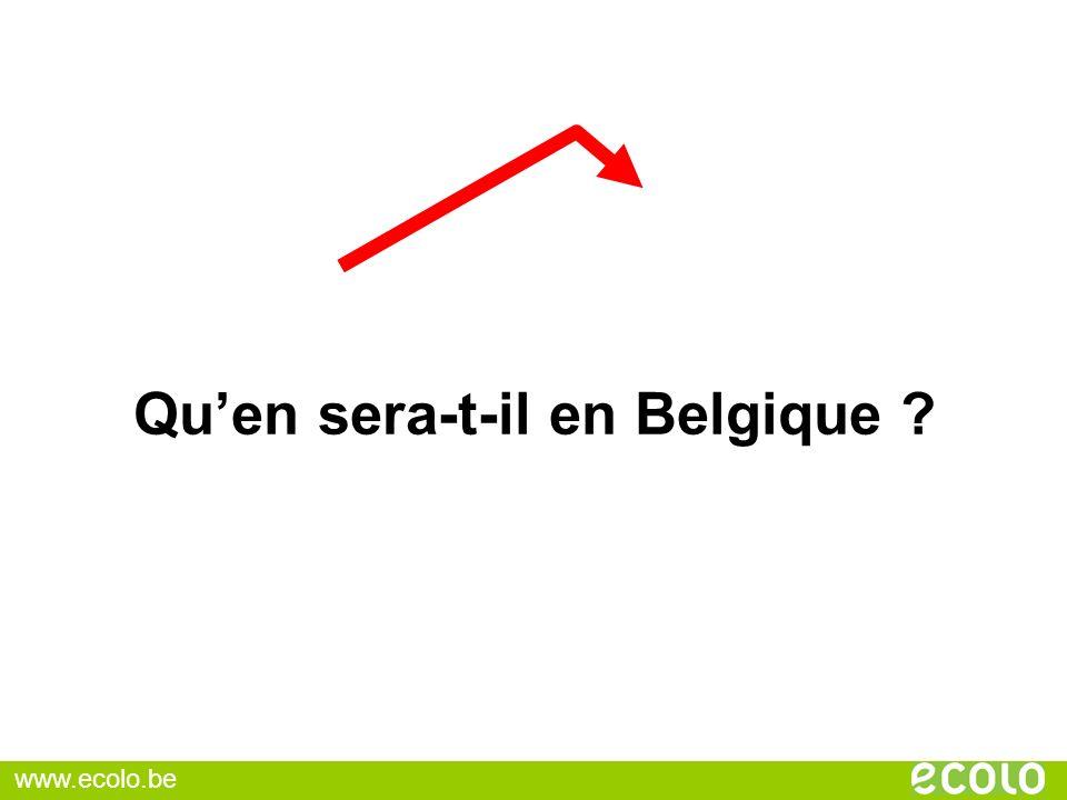 Qu'en sera-t-il en Belgique