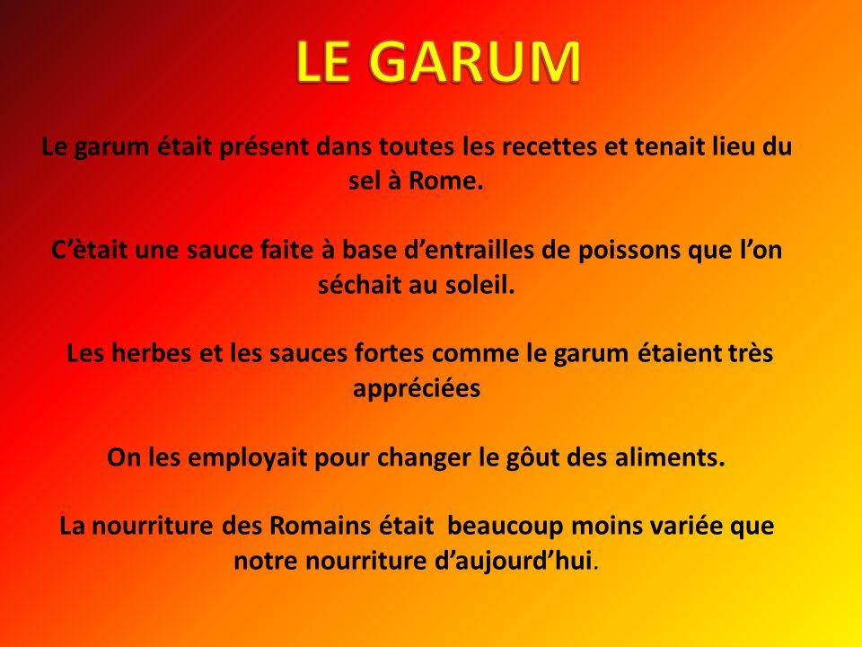 LE GARUM
