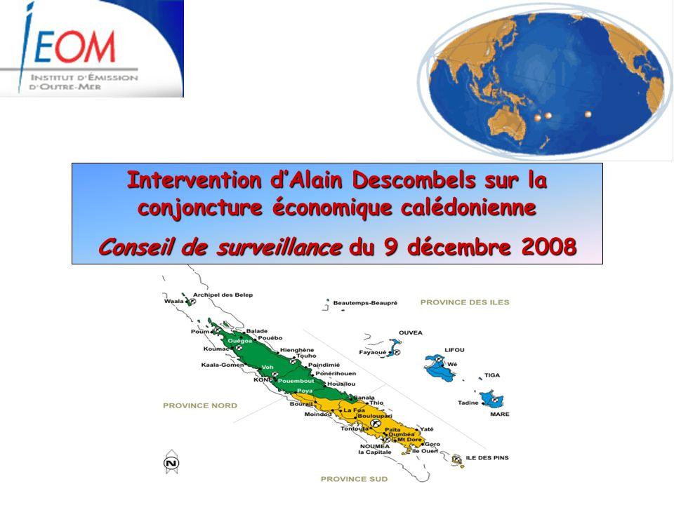 Conseil de surveillance du 9 décembre 2008
