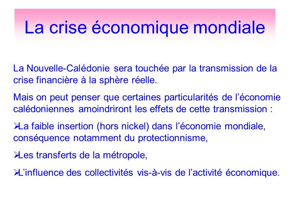 La crise économique mondiale