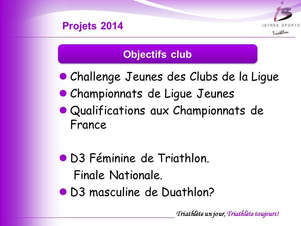 Projets 2014 Objectifs club