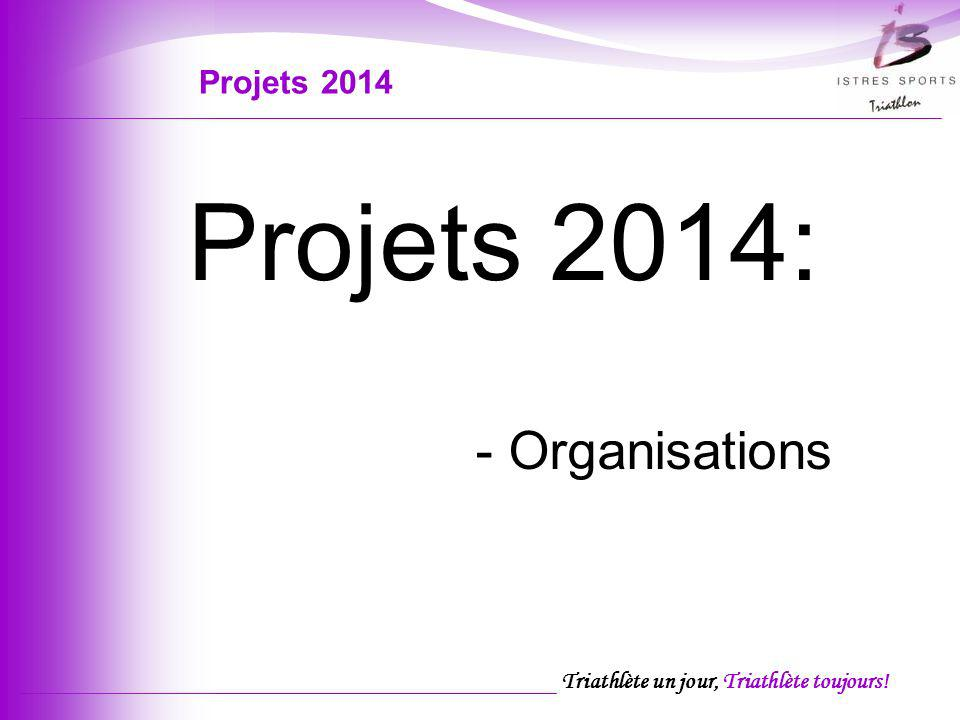 Projets 2014 Projets 2014: - Organisations