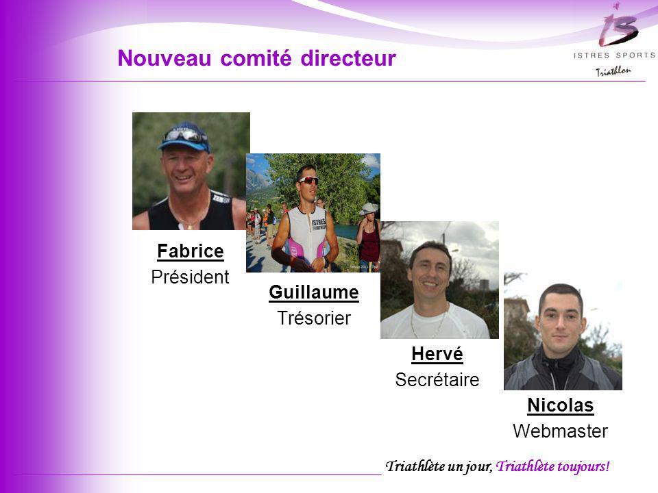 Nouveau comité directeur