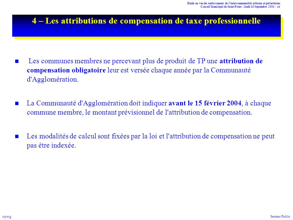 attributions du conseil municipal