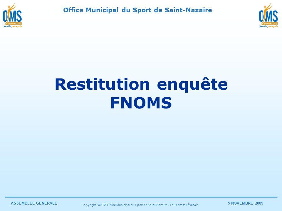 Restitution enquête FNOMS