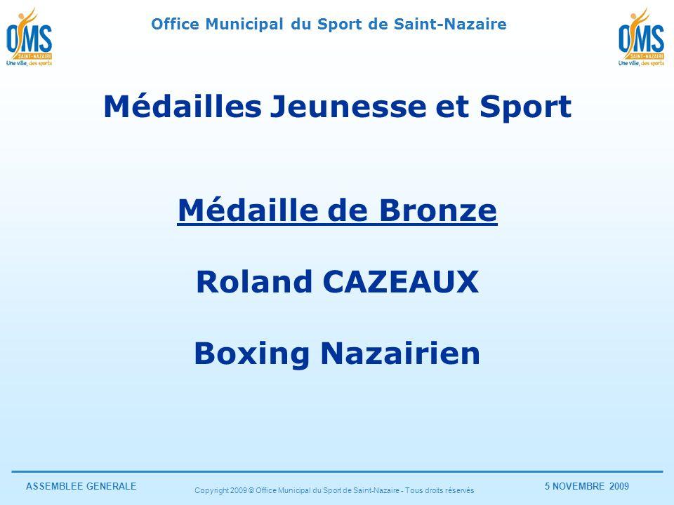 Médailles Jeunesse et Sport