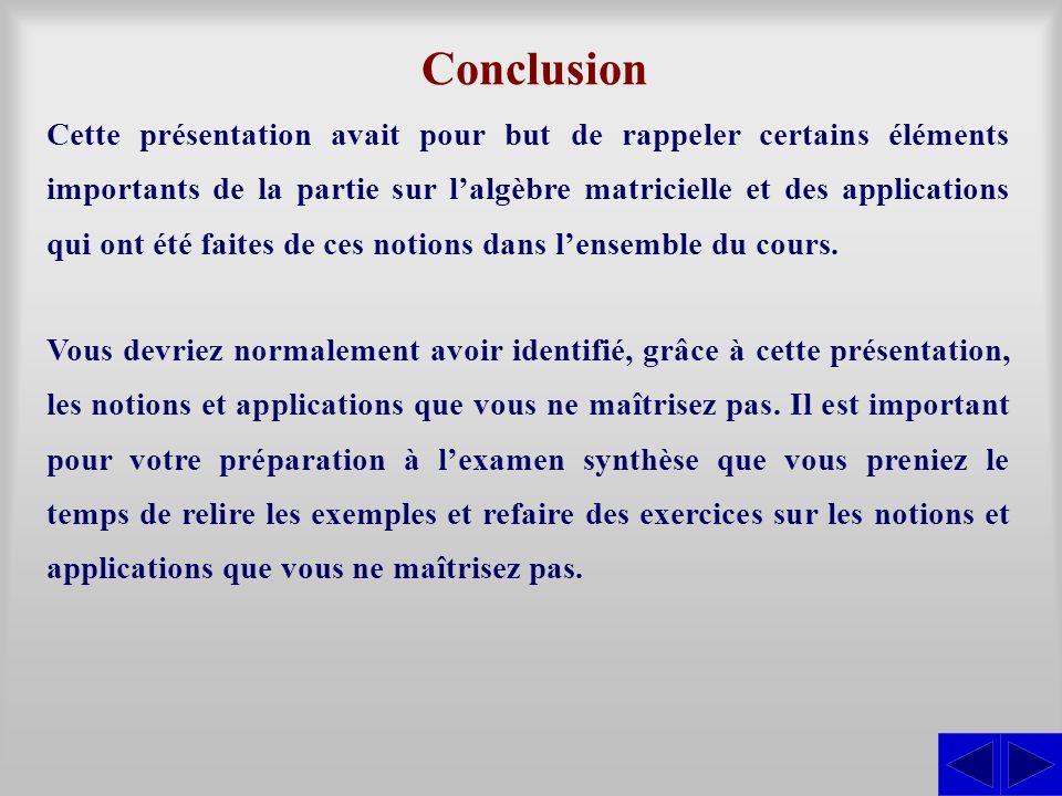 Algèbre matricielle Montage préparé par : André Ross - ppt ...