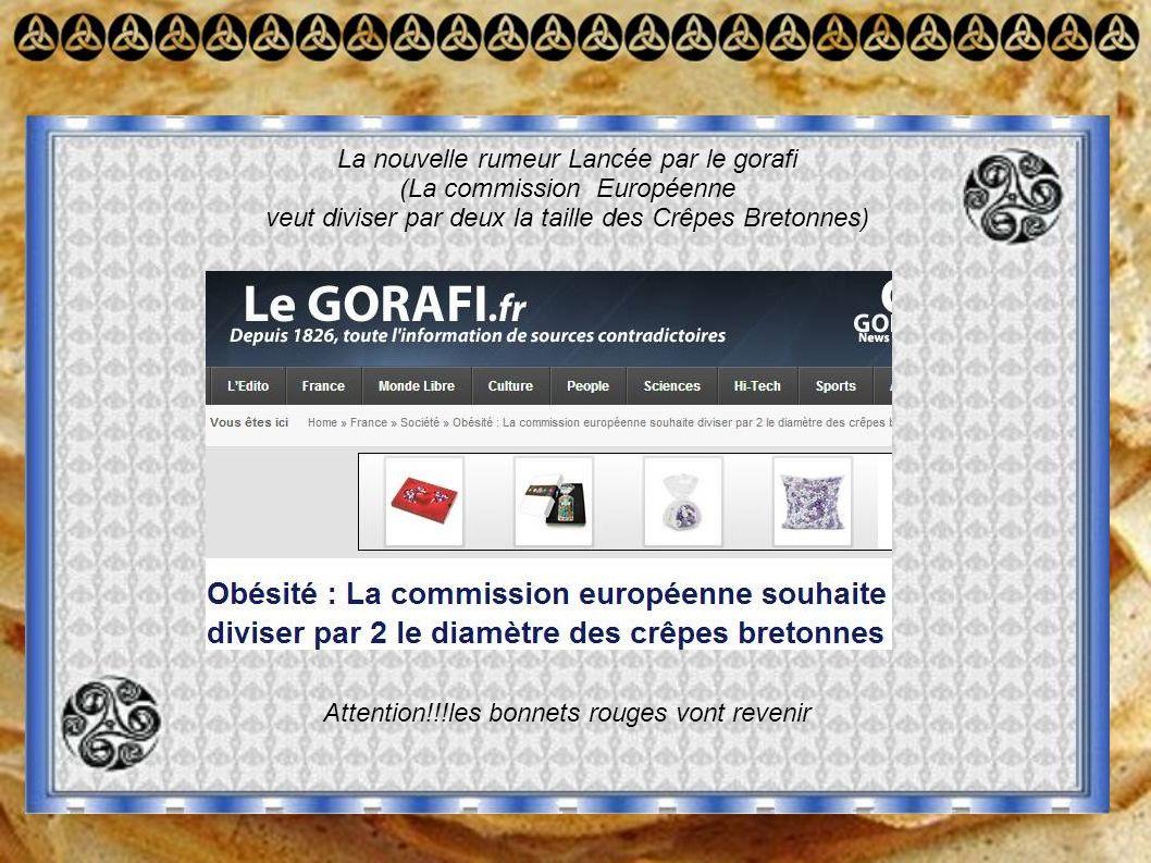 La nouvelle rumeur Lancée par le gorafi (La commission Européenne