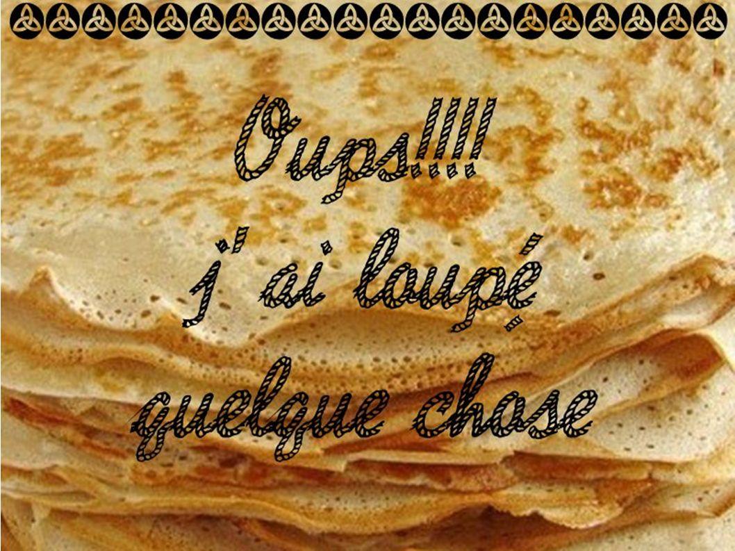 Ma recette des Crêpes Bretonnes
