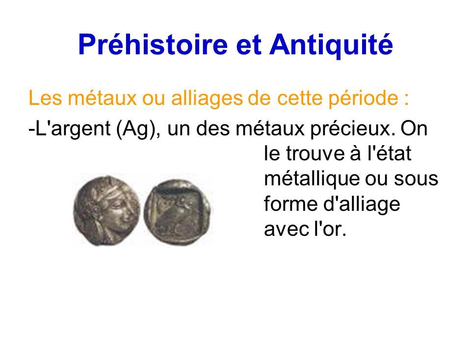 Préhistoire et Antiquité