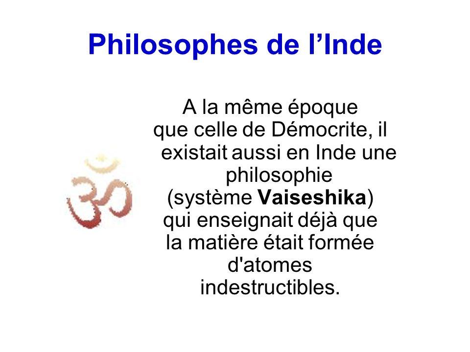 Philosophes de l'Inde A la même époque