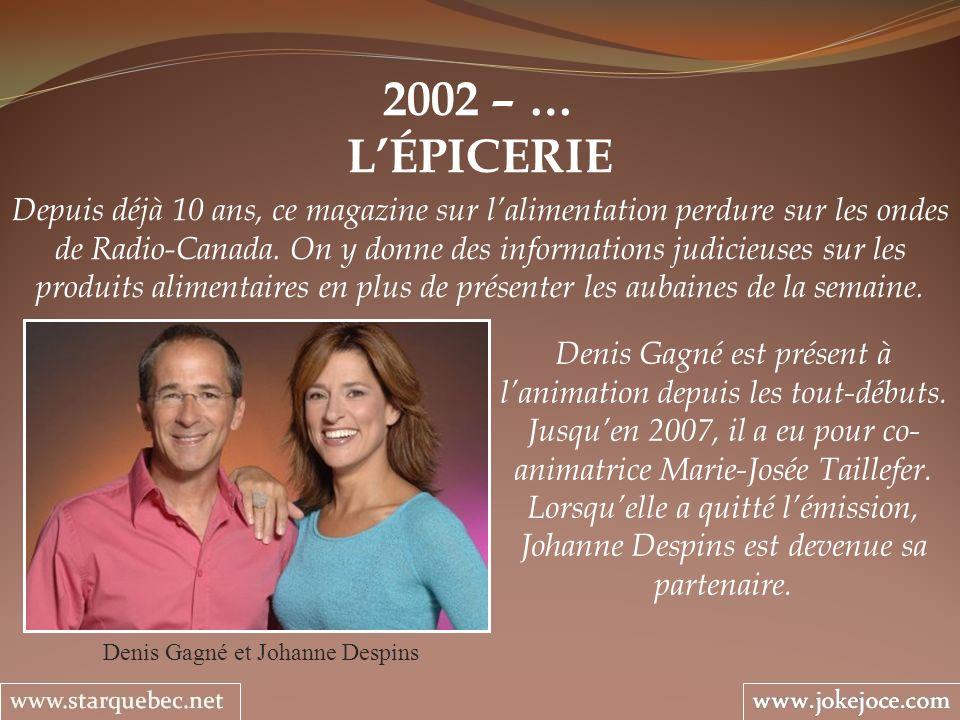 Denis Gagné et Johanne Despins