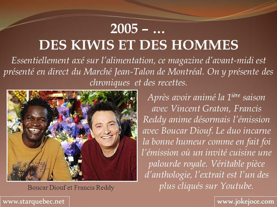 Boucar Diouf et Francis Reddy