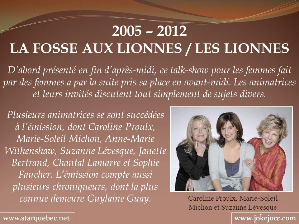 LA FOSSE AUX LIONNES / LES LIONNES