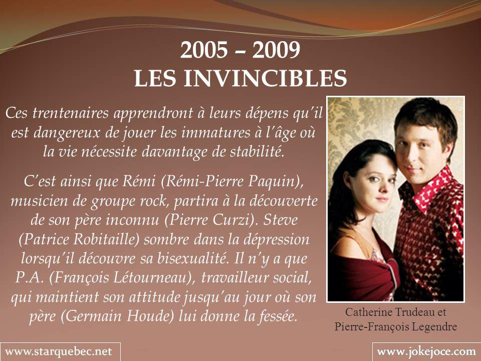 Catherine Trudeau et Pierre-François Legendre