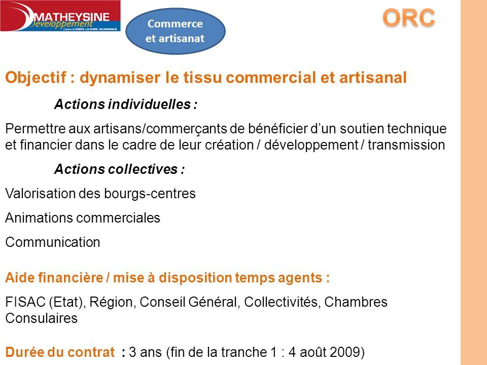 Objectif : dynamiser le tissu commercial et artisanal