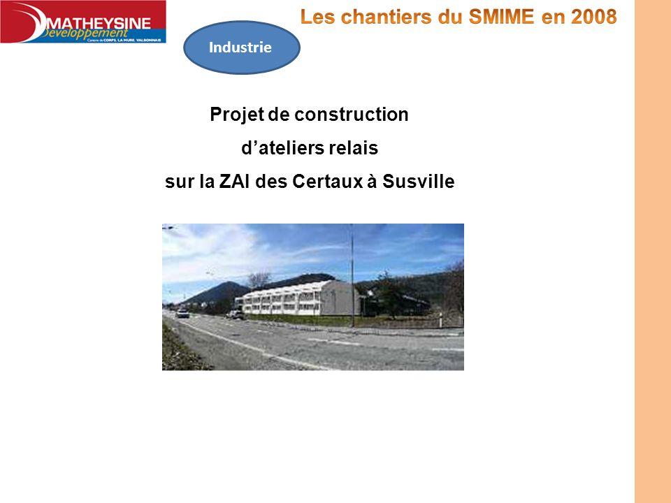Projet de construction sur la ZAI des Certaux à Susville