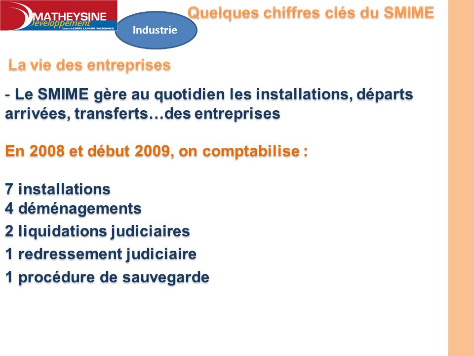 En 2008 et début 2009, on comptabilise : 7 installations