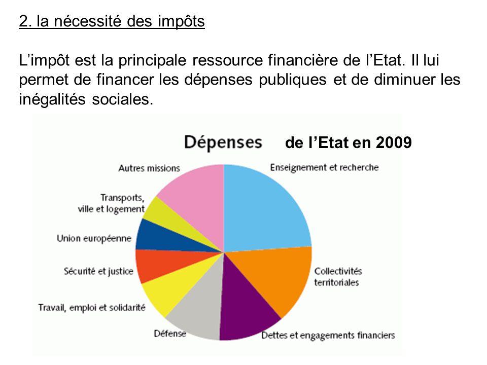 2. la nécessité des impôts