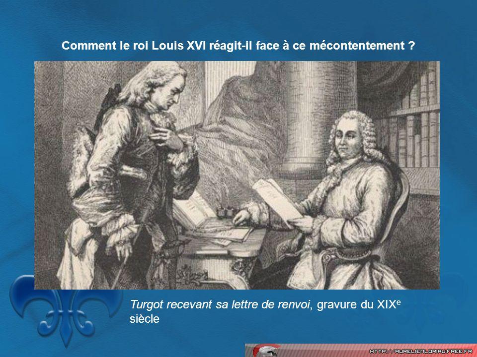 Comment le roi Louis XVI réagit-il face à ce mécontentement
