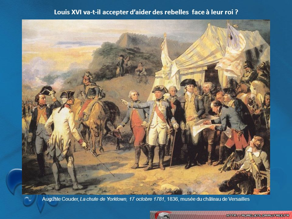 Louis XVI va-t-il accepter d'aider des rebelles face à leur roi