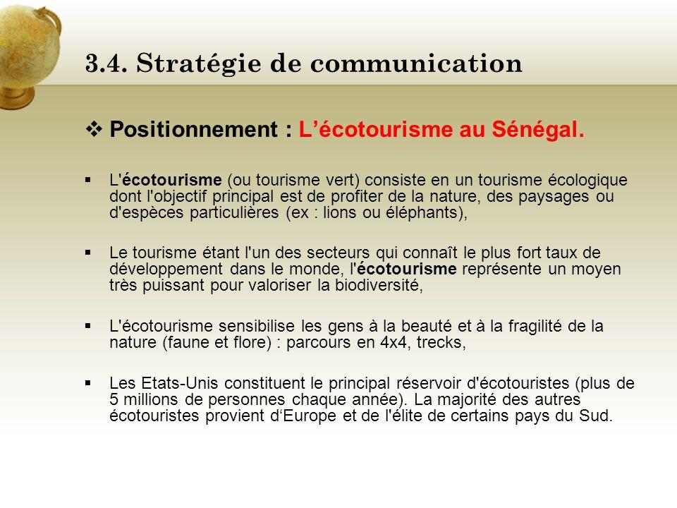 3.4. Stratégie de communication