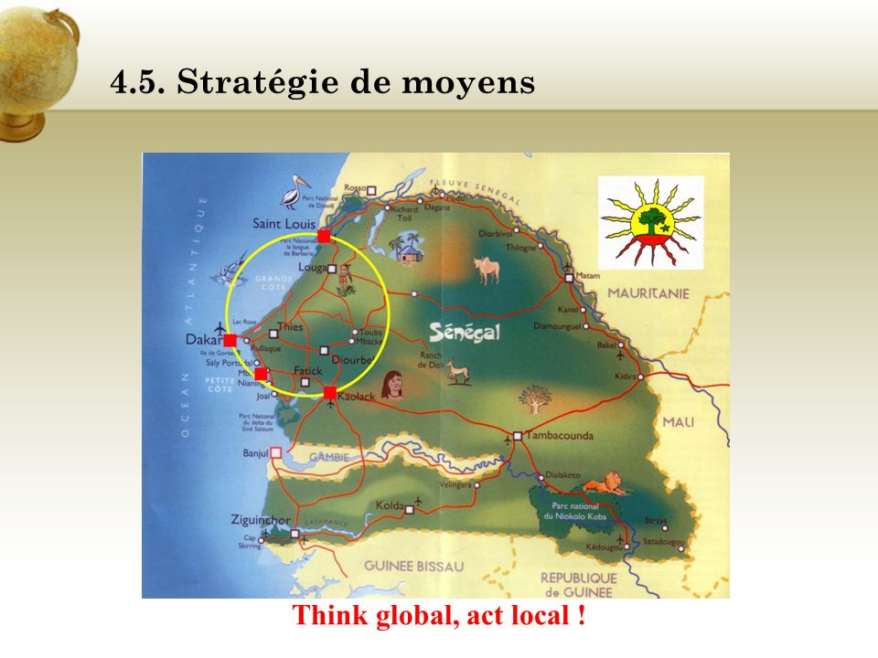 4.5. Stratégie de moyens Think global, act local !