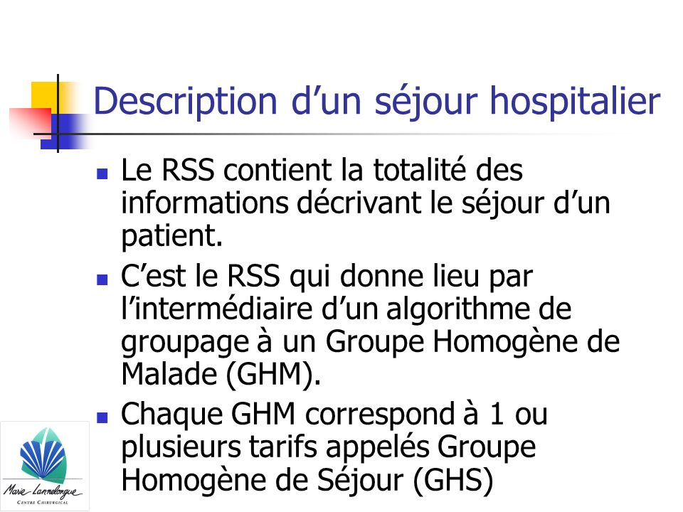 Description d'un séjour hospitalier