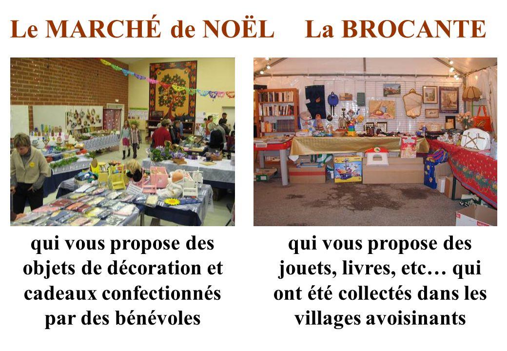 Le MARCHÉ de NOËL La BROCANTE
