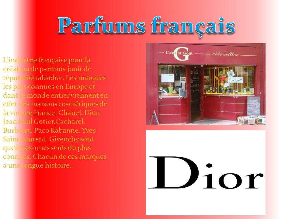 Parfums français