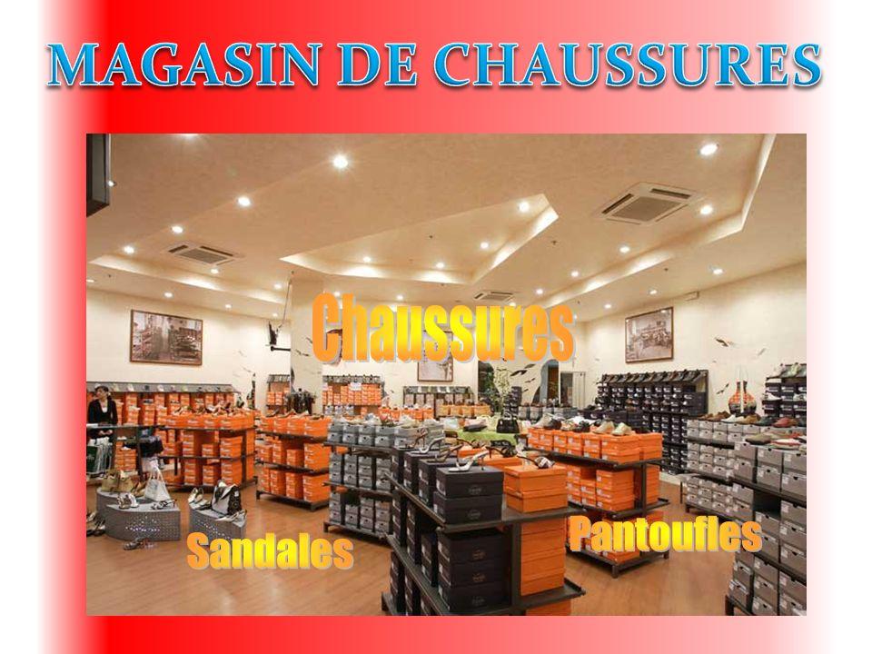 MAGASIN DE CHAUSSURES Chaussures Pantoufles Sandales