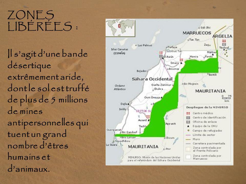 ZONES LIBÉRÉES :