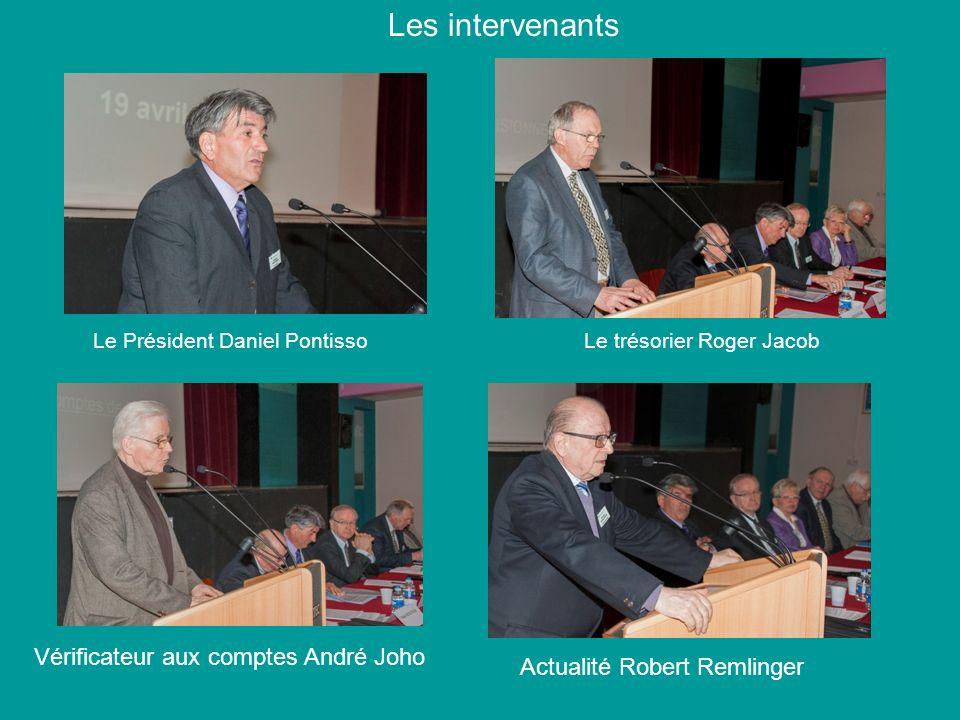 Les intervenants Vérificateur aux comptes André Joho