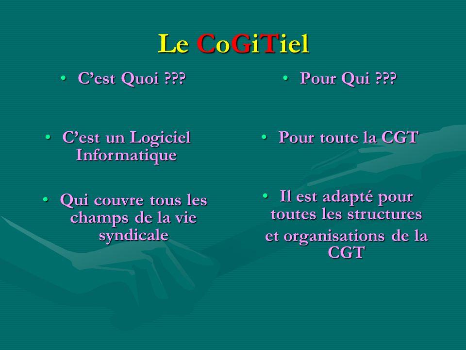Le CoGiTiel C'est Quoi Pour Qui C'est un Logiciel Informatique