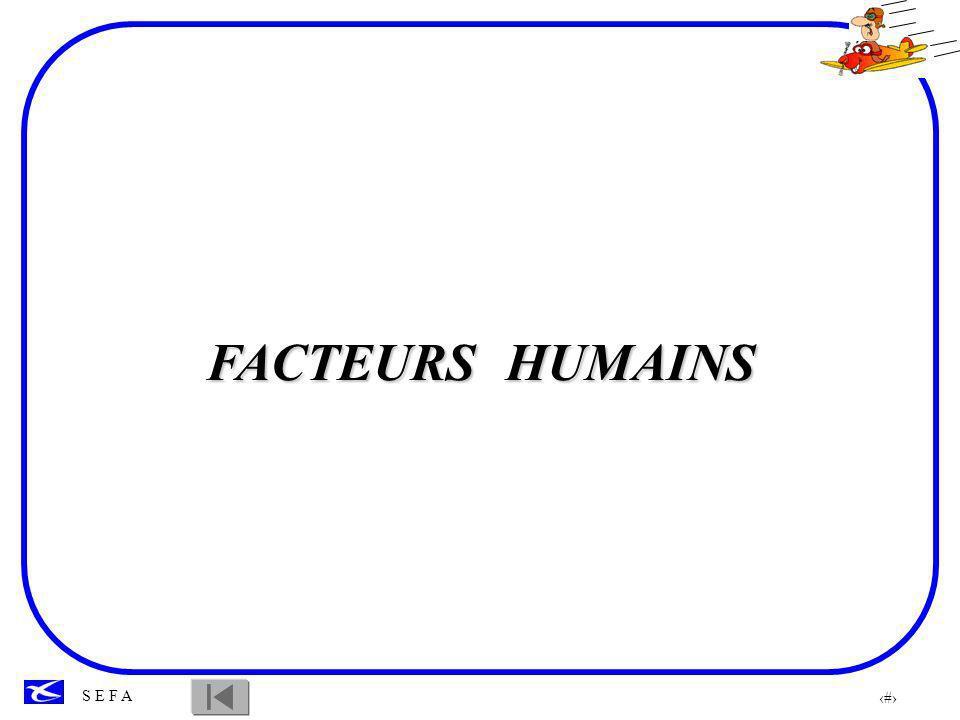 FACTEURS HUMAINS PILOTE