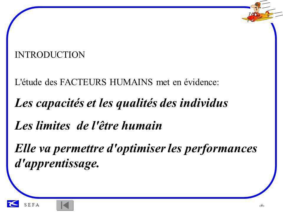 Les capacités et les qualités des individus