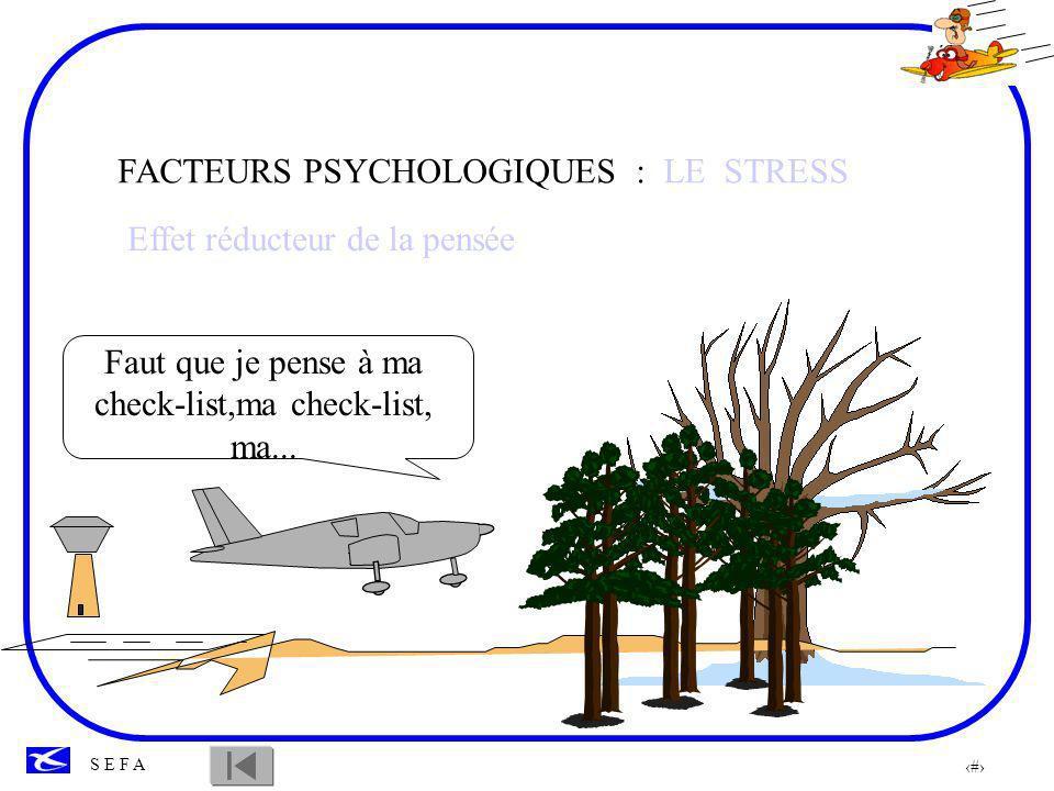 FACTEURS PSYCHOLOGIQUES : LE STRESS
