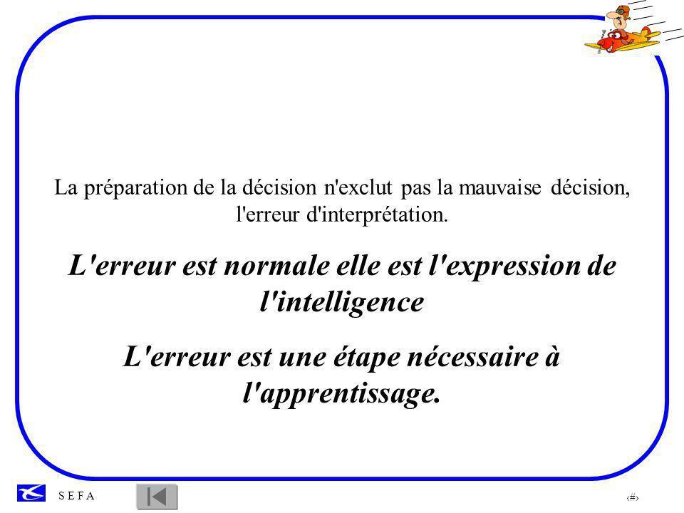 L erreur est normale elle est l expression de l intelligence