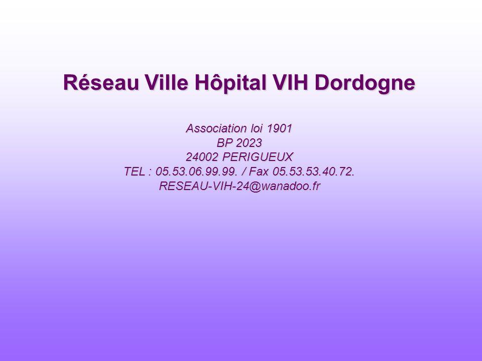 Réseau Ville Hôpital VIH Dordogne