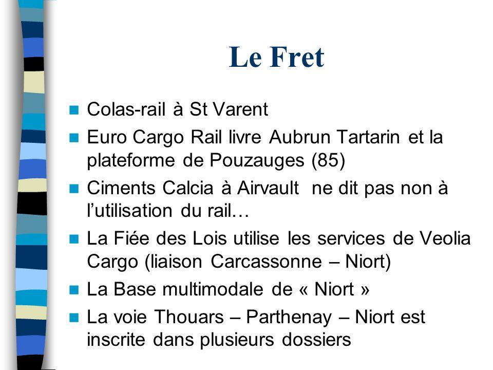Le Fret Colas-rail à St Varent