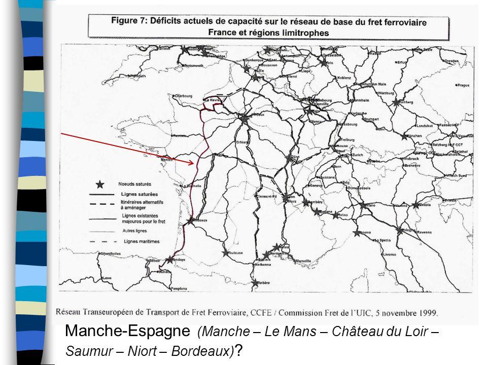 Manche-Espagne (Manche – Le Mans – Château du Loir – Saumur – Niort – Bordeaux)