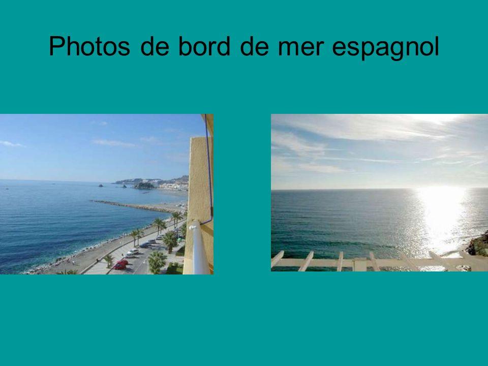 Photos de bord de mer espagnol