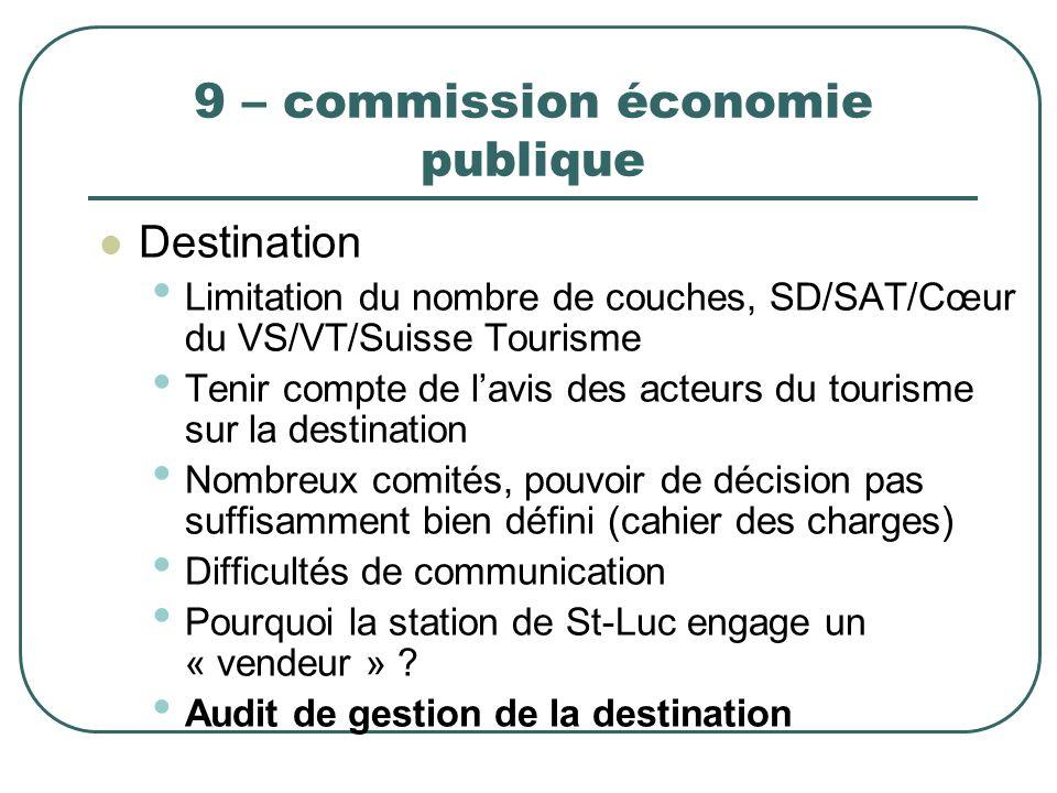 9 – commission économie publique