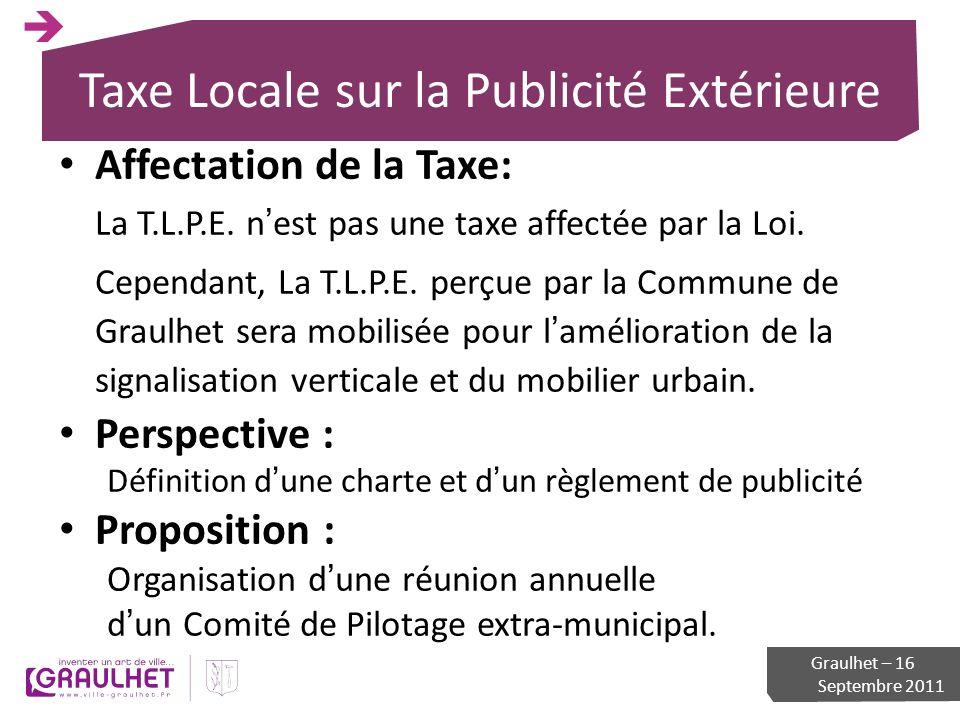 Taxe Locale sur la Publicité Extérieure