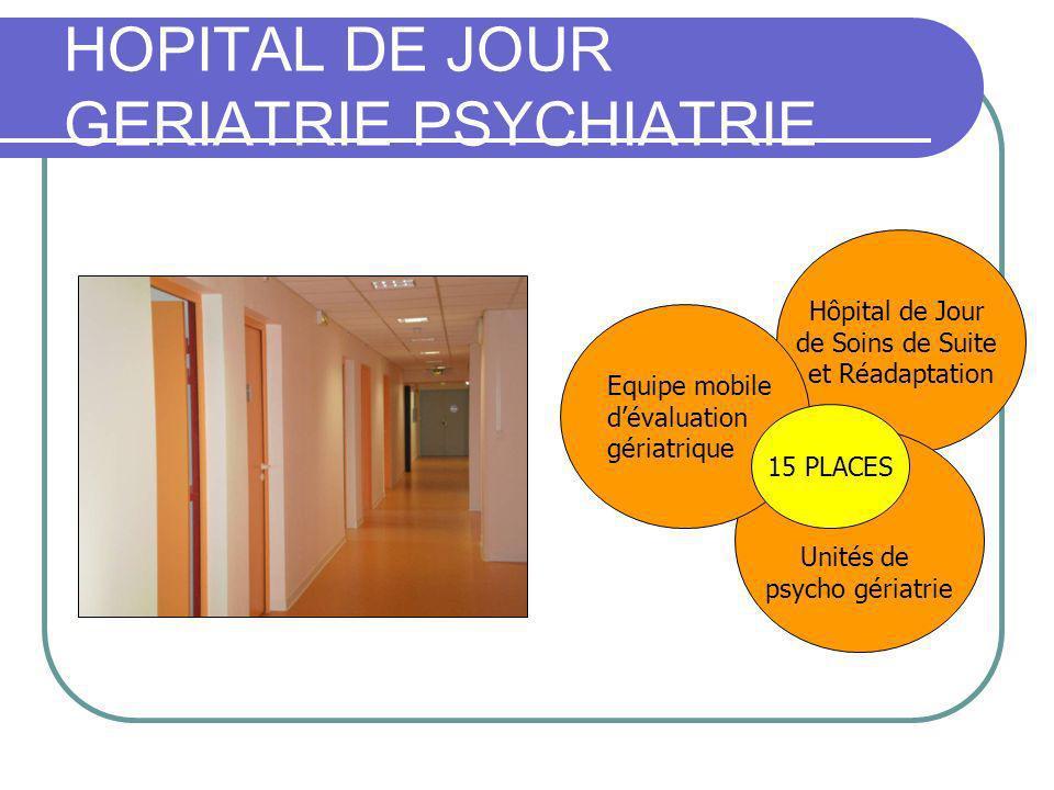 HOPITAL DE JOUR GERIATRIE PSYCHIATRIE Du CH de LA ROCHELLE