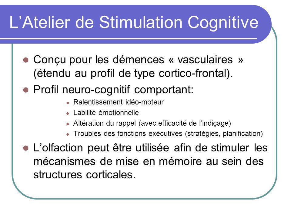 L'Atelier de Stimulation Cognitive