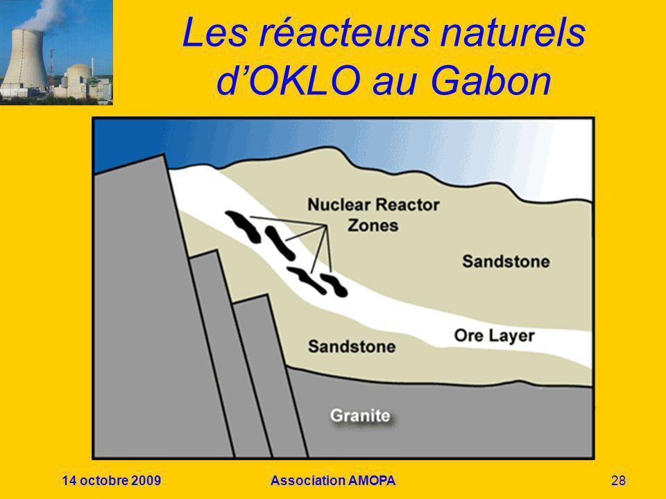 Les réacteurs naturels d'OKLO au Gabon